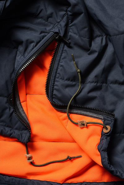 Cross-Quilt Anorak