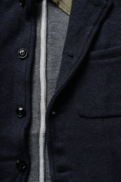 Double-Faced Knit Blazer