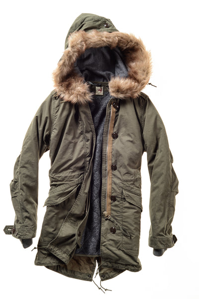Women's Military Parka
