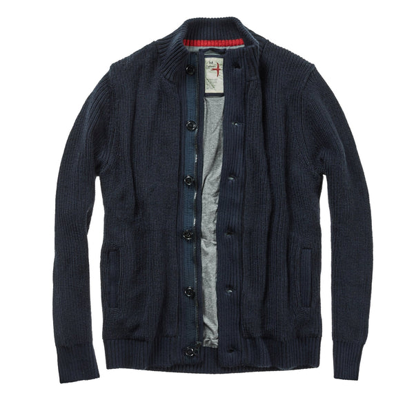 Wool Deck Cardigan