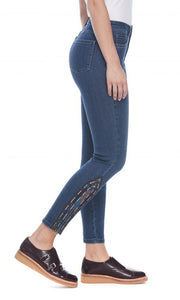 French Dressing Jeans Embroidery - Janet's Fashions