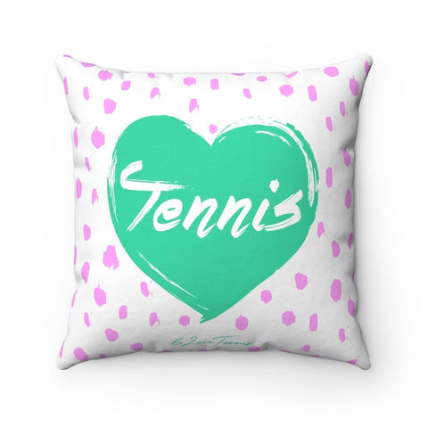 Love Tennis Pillow Case - 14X14 - Pillow Case