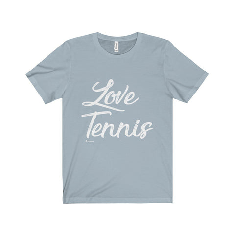 Love Tennis T-Shirt - Light Blue / Xs - T-Shirt