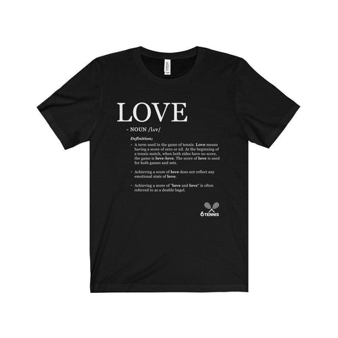 Meaning Of Love T-Shirt - Black / L - T-Shirt