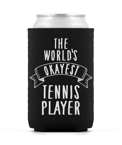 Okayest Player Can Sleeve - Black - Koozies