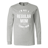Regular Mom Ls - Fitted Long Sleeve (Ls) Shirt / Athletic Heather / S - Long Sleeve Shirts