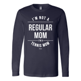 Regular Mom Ls - Fitted Long Sleeve (Ls) Shirt / Navy / S - Long Sleeve Shirts