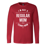 Regular Mom Ls - Fitted Long Sleeve (Ls) Shirt / Red / S - Long Sleeve Shirts