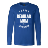 Regular Mom Ls - Fitted Long Sleeve (Ls) Shirt / Royal / S - Long Sleeve Shirts