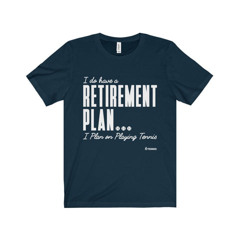 Retirement Plan T-Shirt - Navy / Xs - T-Shirt
