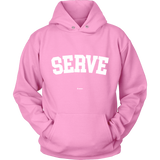 Serve Sweaters - Hoodie / Pink / S - Sweaters & Hoodies