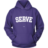 Serve Sweaters - Hoodie / Purple / S - Sweaters & Hoodies