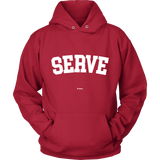 Serve Sweaters - Hoodie / Red / S - Sweaters & Hoodies