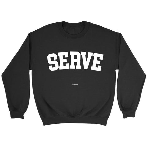 Serve Sweaters - Sweater / Black / S - Sweaters & Hoodies