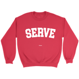 Serve Sweaters - Sweater / Red / S - Sweaters & Hoodies