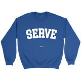 Serve Sweaters - Sweater / Royal / S - Sweaters & Hoodies