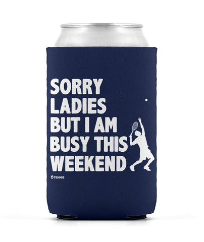 Sorry Ladies Can Sleeve - Navy - Koozies