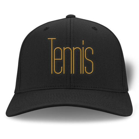 Tennis Cap - Black / One Size - Caps