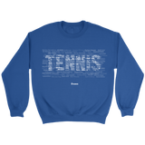 Tennis Legends Sweater - Sweater / Royal / S - Sweaters & Hoodies