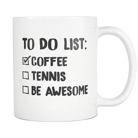 To Do Mug - White - Mug