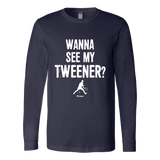 Tweener Ls - Fitted Long Sleeve (Ls) Shirt / Navy / S - Long Sleeve Shirts