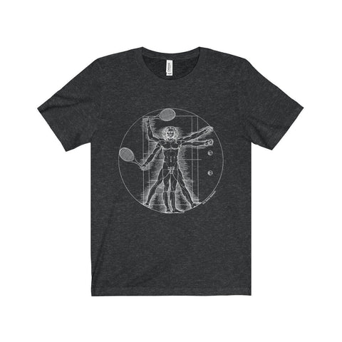Vitruvian T-Shirt - Dark Grey Heather / Xs - T-Shirt