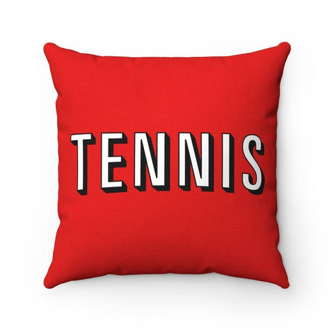 Watch Tennis Pillow - 14X14 - Pillow
