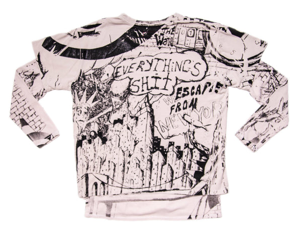 ESCAPE FROM NEW YORK THERMAL TEE