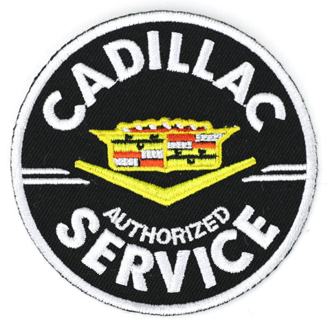 Cadillac Service black - Patch Club