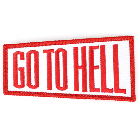 Go To Hell patch image