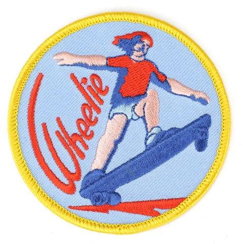 Wheelie patch image