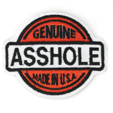 Genuine Asshole patch image