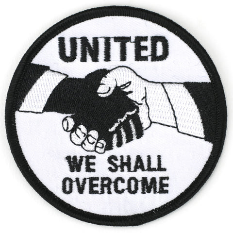 United We Shall Overcome patch image