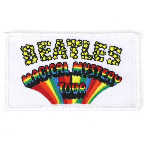 Beatles magical mystery tour patch image