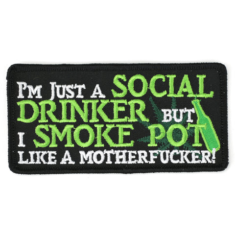I'm Just A Social Drinker - Patch Club