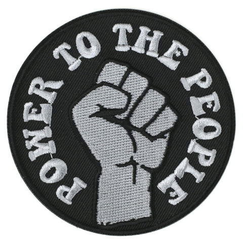 Power To The People patch image