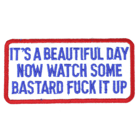 It's A Beautiful Day patch image