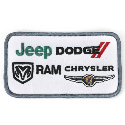Jeep Dodge Ram Chrysler patch image