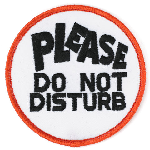 Please Do Not Disturb patch image