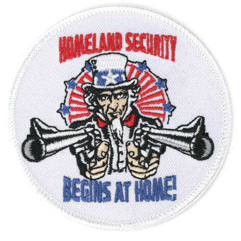 Homeland Security Begins At Home! patch image