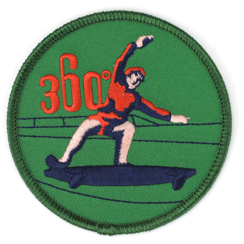 360 Skateboarding patch image