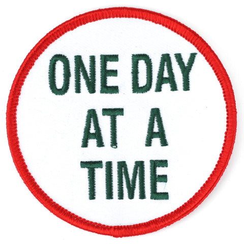 One Day At A Time patch image