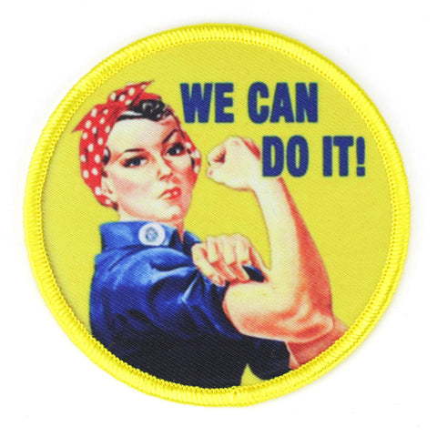 We Can Do It patch image