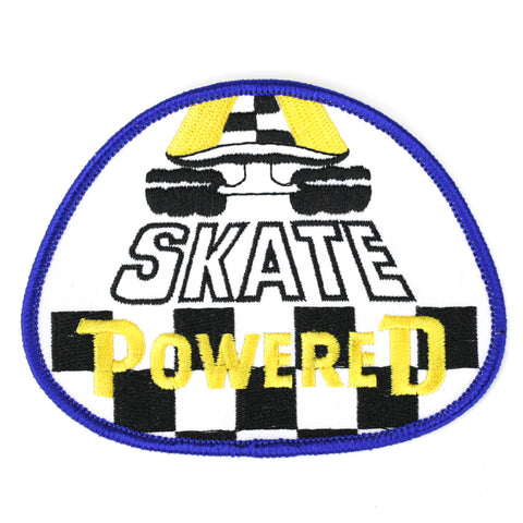 Skate Powered patch image