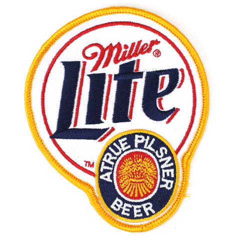 Miller Lite patch image