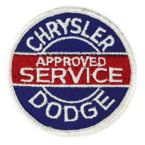 Chrysler Dodge Approved Service patch image