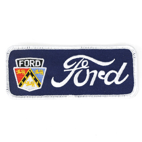 Ford with emblem