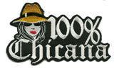 100 Percent Chicana Patch - Patch Club