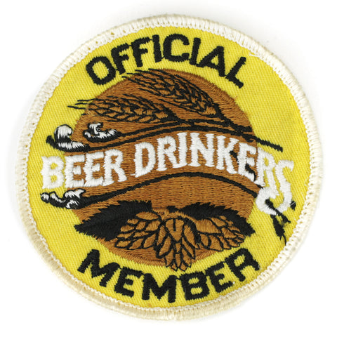 Official Member Beer Drinkers - Patch Club
