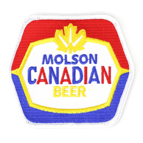 Molson Canadian Beer patch image